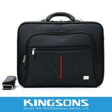 """2012 Latest Design!!Kingsons brand Nylon Laptop case15.6"""""""