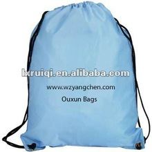 2012 portable plain drawstring bag