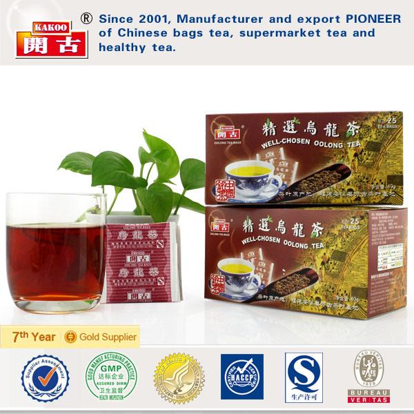 Kakoo Well-Chosen Oolong Tea&natural oolong teabag&WU YI tea bag&anxi oolong tea bag