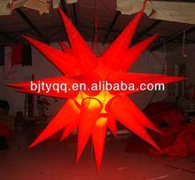 2012 inflatable lighting star
