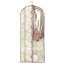 China Supplier Nonwoven Suit Cover,Wedding Dress costume Garment Bag Wholesale