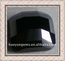 lattice facted black glass any shape quartz