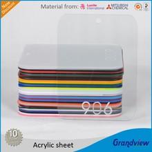 Blue Perspex sheet (acrylic)