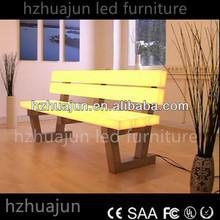 bar furniture sofa with led light(124*60*88cm)