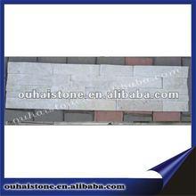 Hot sale beautiful wall white slate culture stone
