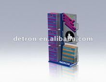 Nice design metal holder for leaflet/brochure/handbook/manual powder coat finished