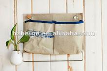 Hanging Jute Storage Bag,wall storage bag