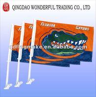 Cartoon car flag