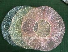 Disposable washing shower cap/Disposable plastic shower cap