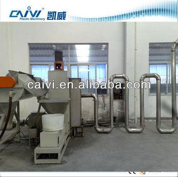 HDPE recycling machine