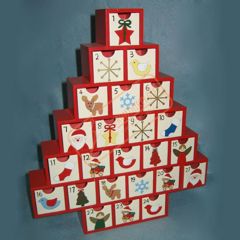 Advent Calendar Drawers Wood   Search Results   Calendar 2015