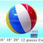 Inflatable beach ball/12 Pieces Color ball
