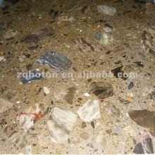 Terrazzo - Dawn Amber Composite Stone for Tub Surround