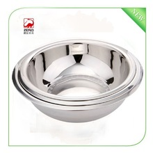 0.8mm 32cm stainless steel kitchen tool ,cheap soup bowl