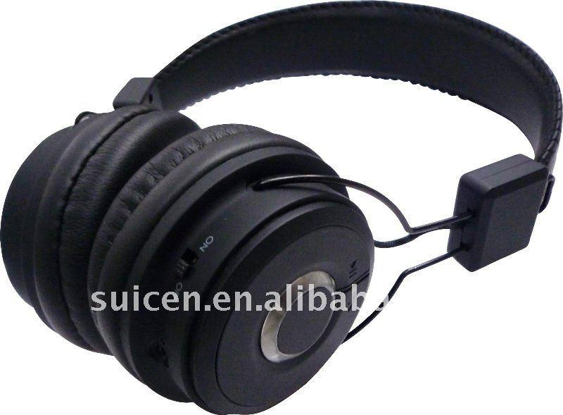 headband stereo bluetooth headset pc mobile headphone. Black Bedroom Furniture Sets. Home Design Ideas