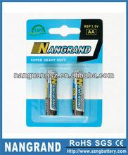 r6 um3 1.5v dry battery aa