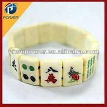 Lucky mahjong bracelet
