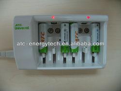 8pcs AA/AAA/ 9V Ni-MH Battery Charger