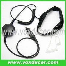 Soft throat vibration mic earphone for Motorola ham radio MTX850 MTX850LS MTX900 MTX950 MTX960 MTX8250 MTX8250LS MTX9250
