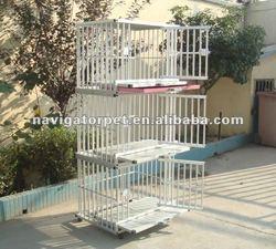 Modular Aluminum Dog Crate, Stacking Dog Crate