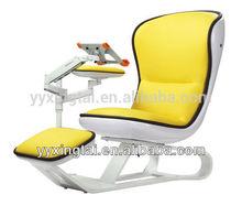 DEMNI FRP Orange comfortable latest suites with footrest and asjustable laptop holder