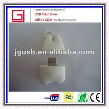 hot!!! tooth shaped gifts usb flash drive for medical promotion gift