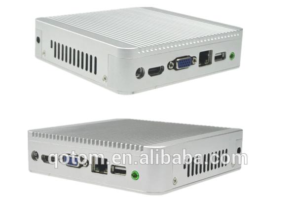 industrial computer,Qotom-Q100 Virtual desktop computer,2G RAM,16G SSD,Linux mini computer.