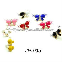 NEW butterfly dustproof plug earphone jack pin cell phone accessory for phone