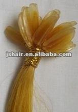 u tip hair extension/pre-bonded hair extension/pre tipped fusion hair
