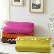 Comfort Bedding, Colorful Memory Foam Pillow