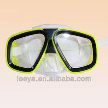 liquid silicone tempered glasses full face diving scuba mask M230