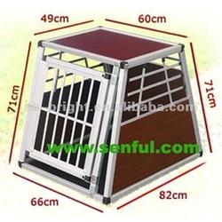 Slope Aluminum Dog Cage