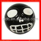 Plastic Sticky Skull ball toy/halloween item