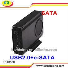 New 3.5 SATA HDD Enclosure(FZX3508)