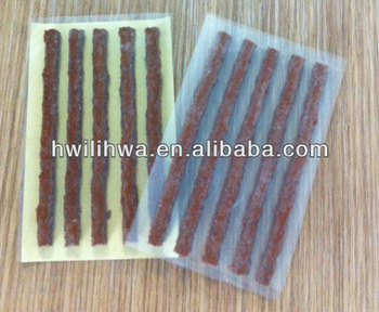 tire puncture seal string