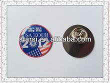 metal emblem with pin 25mm