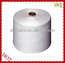 20/3 ring spun raw white TFO 100%polyester yarns