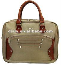 elegant laptop briefcase with rivet