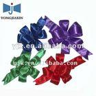 Custom wedding dress satin ribbon bow