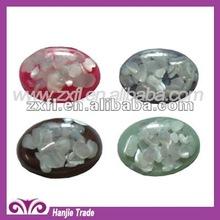 18*25mm Shell inlay resin cabochon epoxy rhinestone for jewel accessory