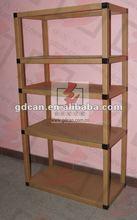 showroom paper cardboard display rack