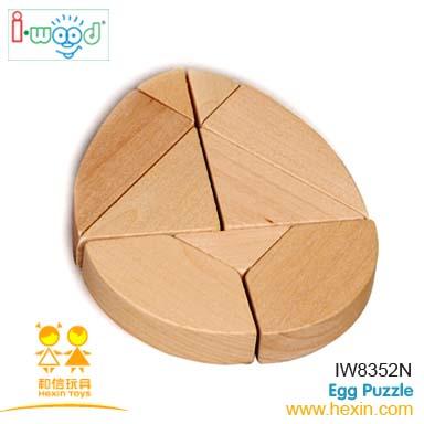 Huevo rompecabezas ( juegos de madera, Inteligente juegos, Rompecabezas de madera )