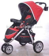 2014 New Aluminum Baby Stroller /Jogger Red C268