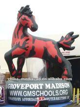 Custom inflatable advertising horse/kylin model