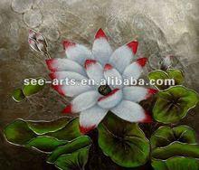 flower designs fabric modern acrylic painting -278