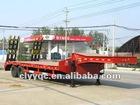 New 35ton low gravity flat semi vehicle trailers
