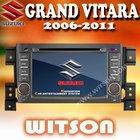 WITSON touch screen car radio gps for suzuki grand vitara with ISDB-T Tuner (Optional)