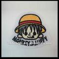 Desenhos animados japoneses patch bordado
