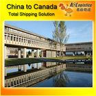 sea shipping china to canada