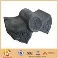 argile à la main traditionnelle chinoise émaillés tuiles temple